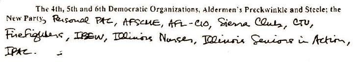 Obama�s Handwriting