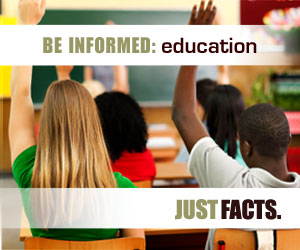 Be informed about education
