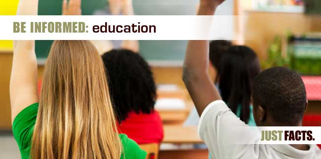3 Education Issues That Will Have To Be Reconciled After >> Education Just Facts