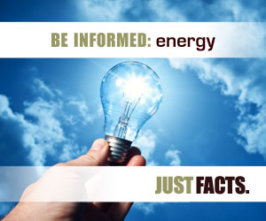 Be informed about energy