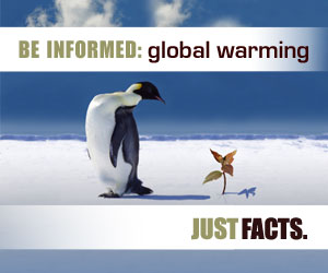 Be informed about global warming