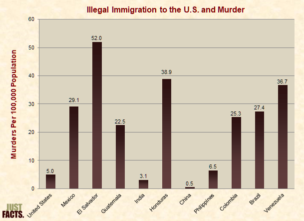 Illegal Immigration to the U.S. and Murder