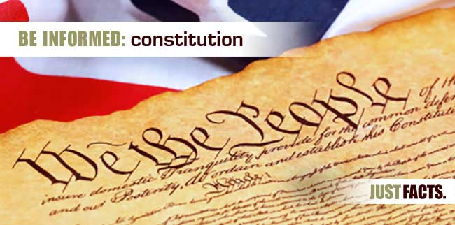 constitution just facts