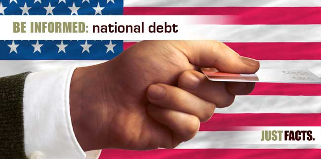 National debt just facts sciox Image collections