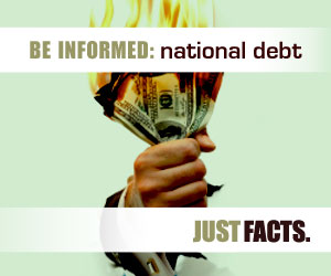 Be informed about the national debt