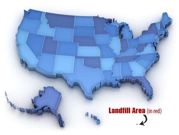 Landfill Area