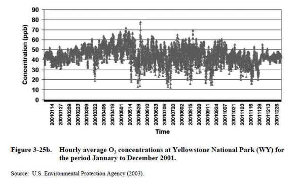 Yellowstone Monthly Concentration