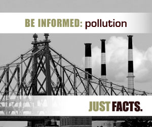 Be informed about pollutions