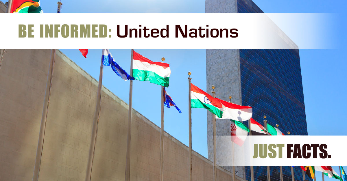 United Nations – Just Facts